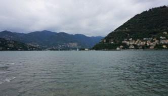 In Como am Ufer des Comersees