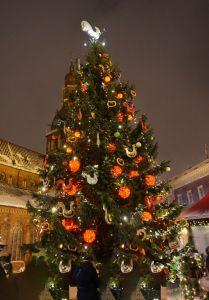 Weihnachtsmarkt Riga - Weihnachtsbaum