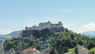 Hoch über der Stadt in der Festung Hohensalzburg