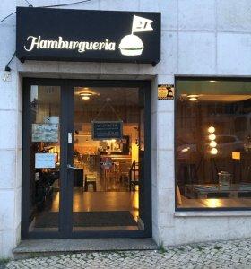 Essen in Lissabon - Hamburger essen