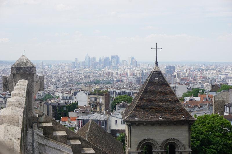 Sacré-Cœur Blick nach La Defence