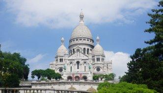 300 Treppenstufen bis auf das Dach der Sacré-Cœur