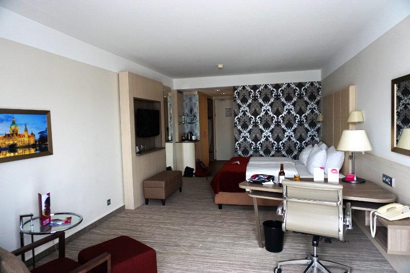 Doppelzimmer im Crowne Plaza Hannover Schweizerhof
