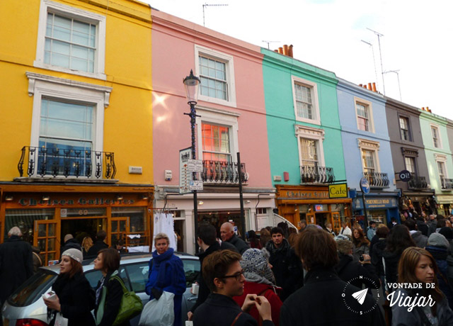 Londres - Notting Hill Portobello Road