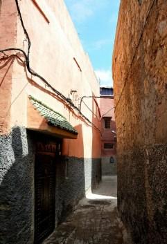 Marrakesh - Beco na Medina