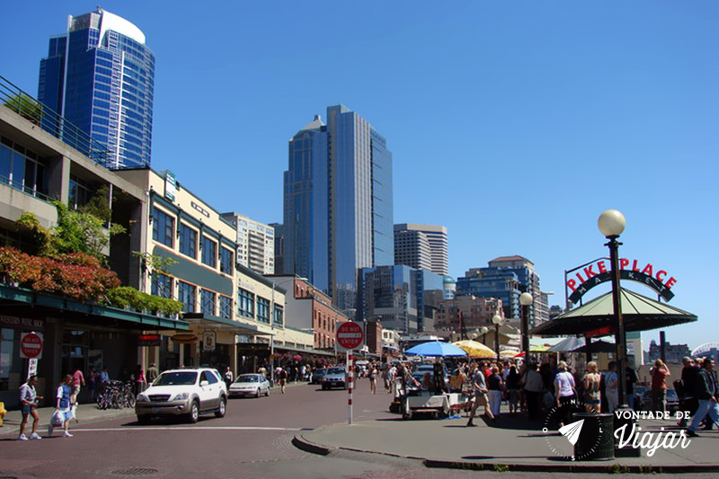 Seattle - Pike Place Market em Seattle