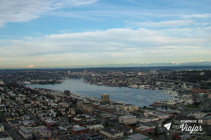 Seattle - Vista da torre Space Needle