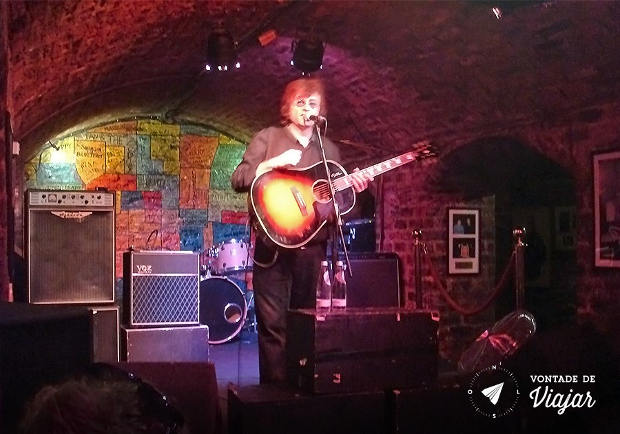Liverpool - show cover no Cavern Club (blog Vontade de Viajar)