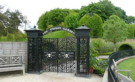 Viagem nerd - Alnwick - Poison Garden