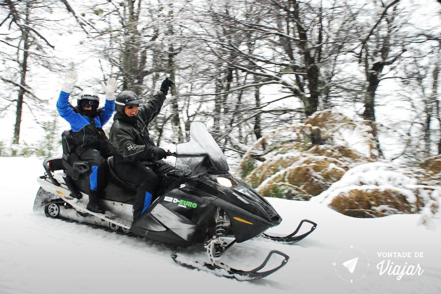Bariloche - snowmobile