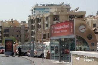Dubai - ate o ponto de onibus tem ar condicionado