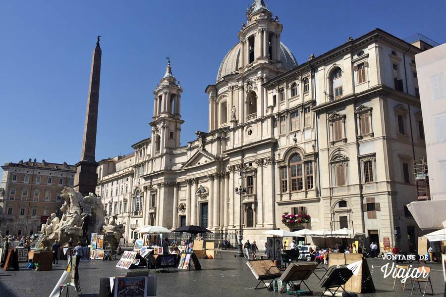 O que fazer em Roma - Piazza del Popolo