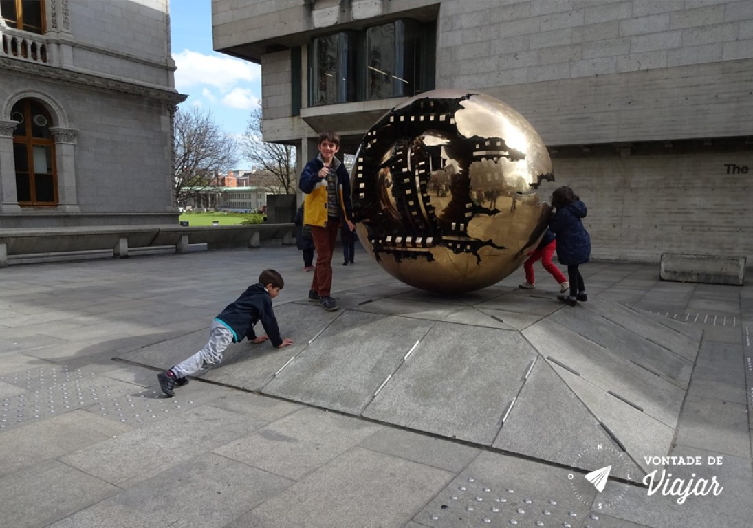 Universidades do mundo - Trinity College em Dublin