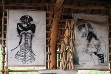 Chiang Mai - Tribos da Indochina alongamento da india Padaung (foto do blog Vontade de Viajar)