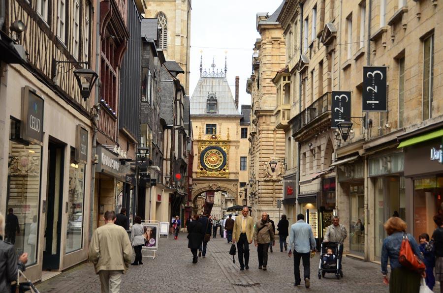 Normandia - Rouen Horloge - Rua do Relogio - foto de appaIoosa