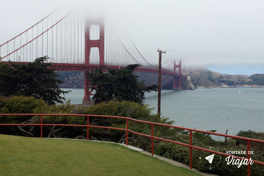 California - Ponte Golden Gate em San Francisco