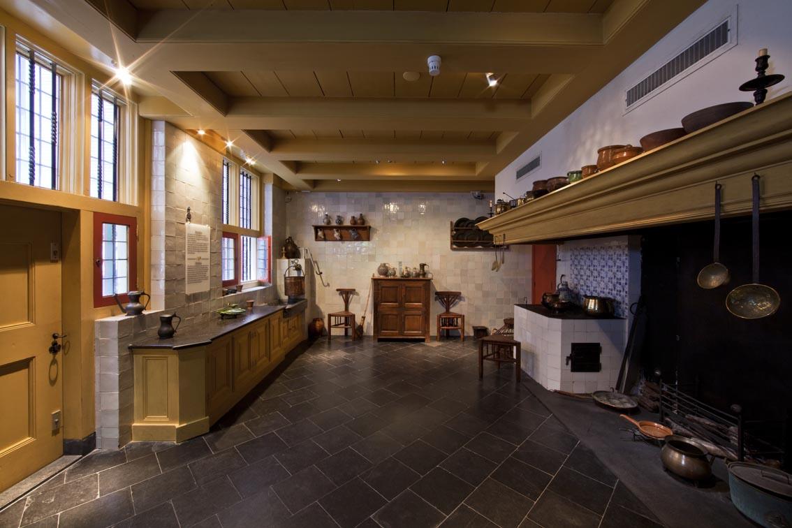 Amsterdam - Museu Casa de Rembrandt - cozinha