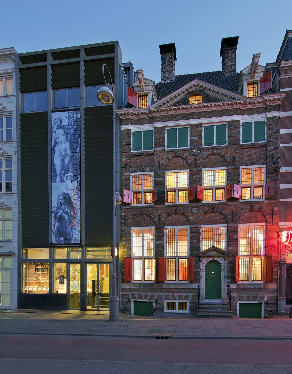 Amsterdam - Museu Casa de Rembrandt - fachada do predio