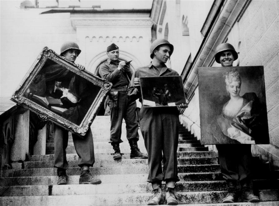 Monuments Men - Obras em Neuschwanstein - Monuments Men Foundation