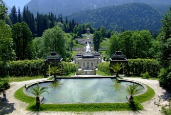 Munique - Palacio Linderhof - foto de ADD no pixabay