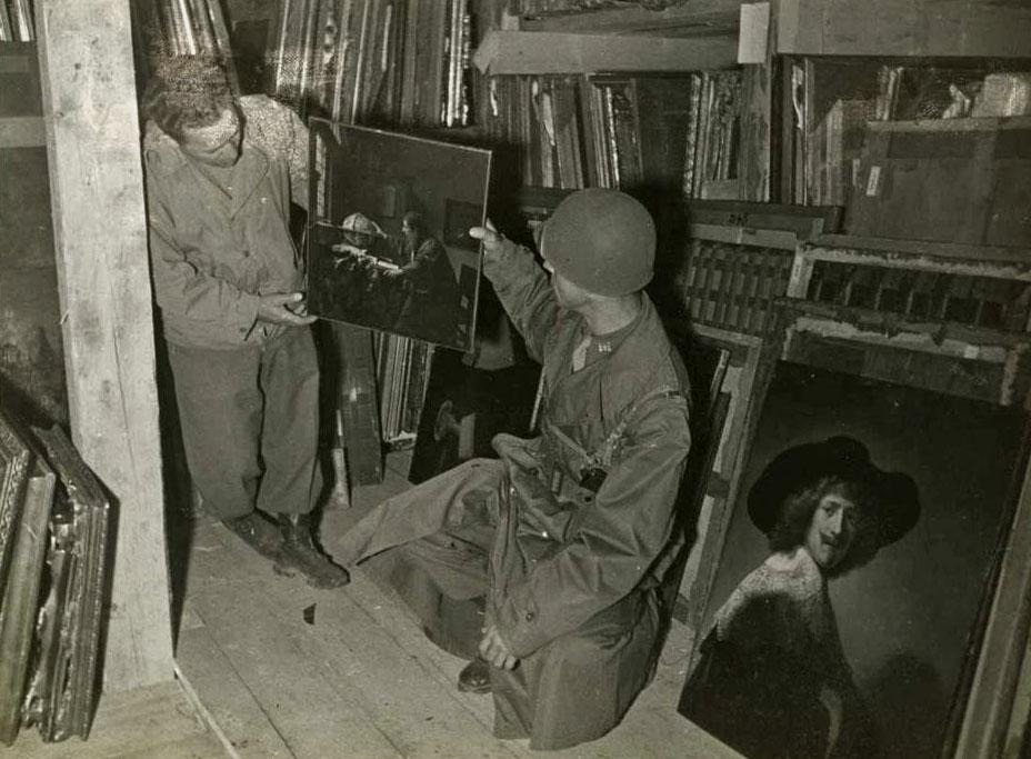 Obras de arte Segunda Guerra Mundial - Astronomo de Vermeer - Monuments Men Foundation