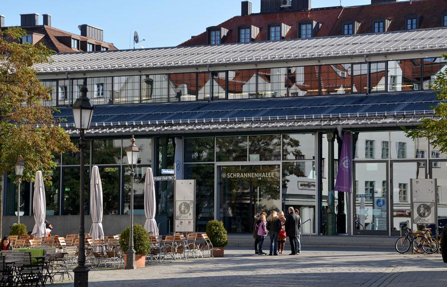 Viktualienmarkt - Schrannenhalle galeria gourmet Munique - Foto Matthias Kling