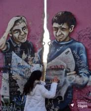 Da primeira vez que vi o Muro de Berlim