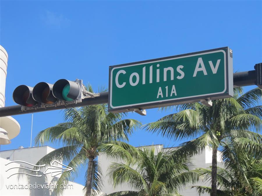 Bahamas - Collins Avenue em Miami (foto de Tatiana Brayner para o blog Vontade de Viajar)