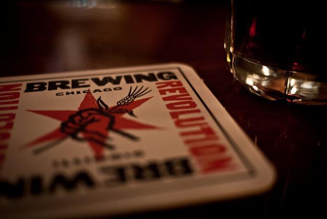 Cervejas de Chicago - Porta copos Revolution - foto Chicago Beer Geeks