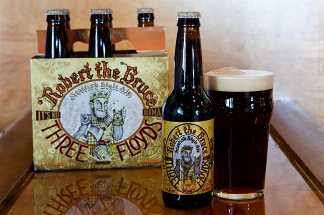 Cervejas de Chicago - Three Floyds - Robert the Bruce Foto The Warning Sign