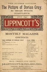Roteiros Literarios - Lippincotts Megazine - Julho 1890 - Oscar Wilde Retrato de Dorian Gray