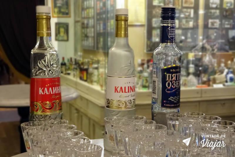 Dicas da Russia - Degustacao de vodka no Museu da Vodka em Sao Petersburgo