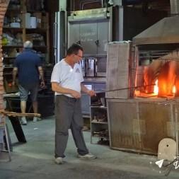 Ilhas de Veneza - Forno em uma fabrica de vidros