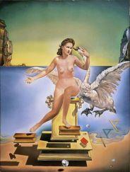 Salvador Dali - Atomic Leda