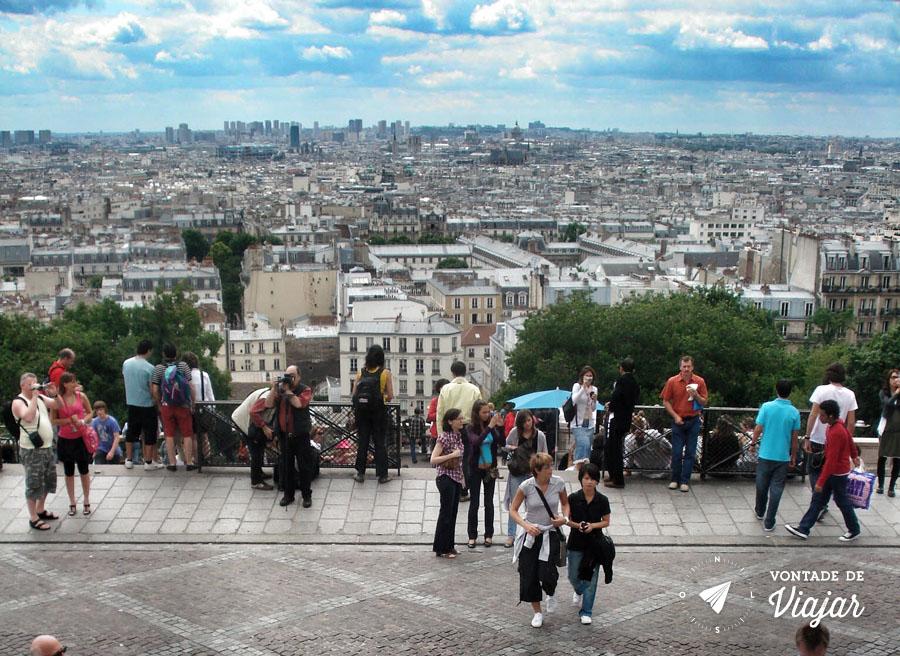 Vistas de Paris - Montmartre