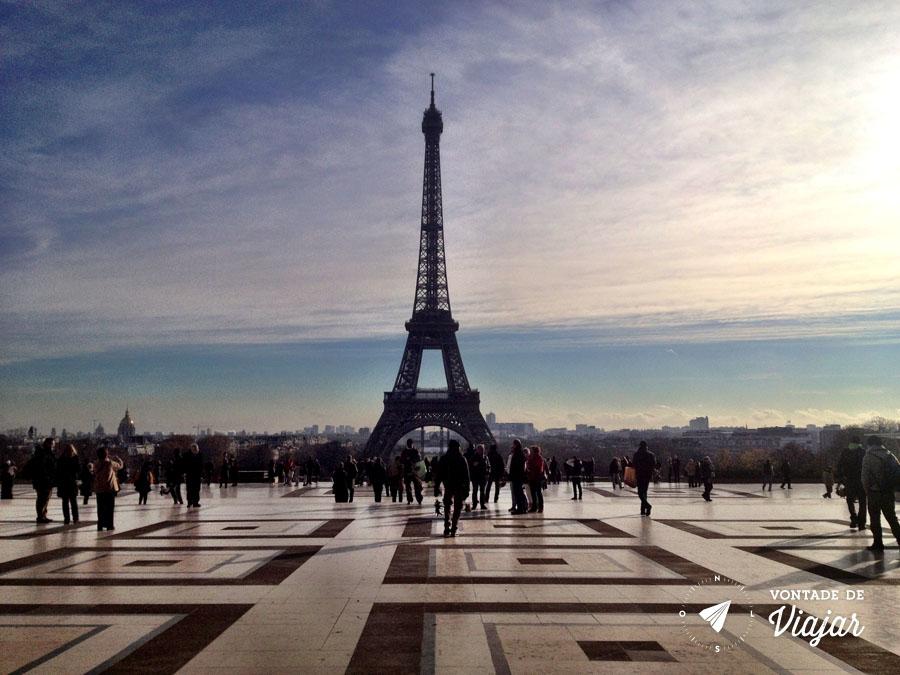 Vistas de Paris - Trocadero