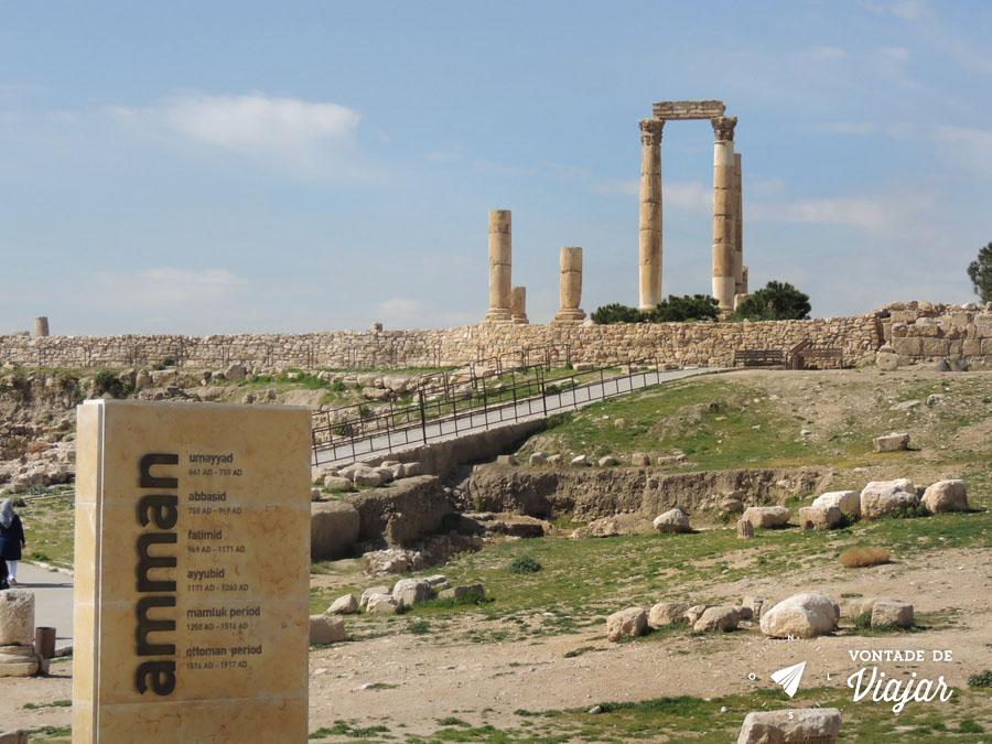 Ama Jordania - Ruinas Templo de Hercules