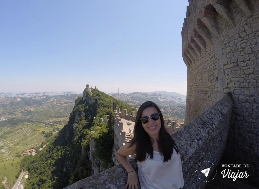 San Marino Italia - Vista de San Marino