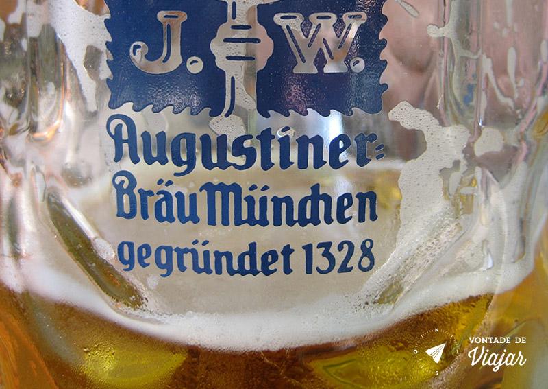 Beerhalls em Munique - Cerveja Augustiner Beer Garden