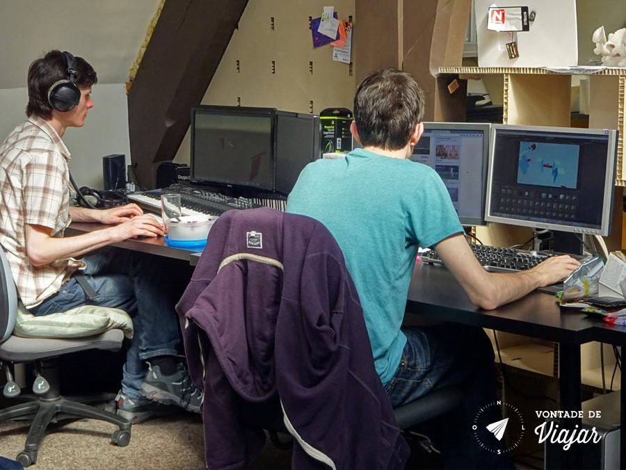 Dundee Design - Escritorio de coworking Fleet Collective
