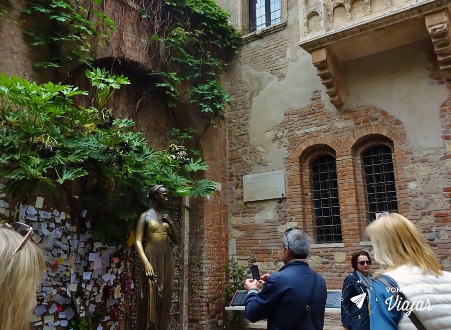 Romeu e Julieta História - Casa de Julieta em Verona
