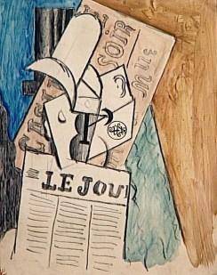 picasso-em-paris-homme-lisant-un-journal-1914-museu-picasso
