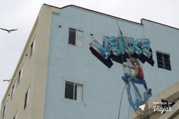 Los Angeles street art - Autoretrato artista Rip Cronk