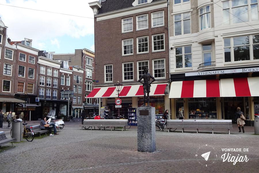 Provos Amsterdam - Spui estatua Het Lieverdje