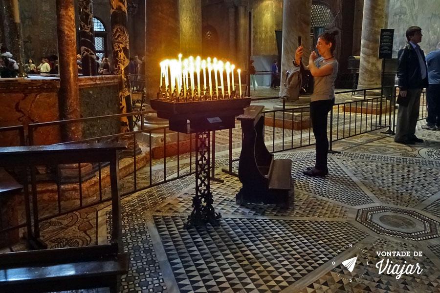 Italia - Veneza Basilica de San Marco por dentro