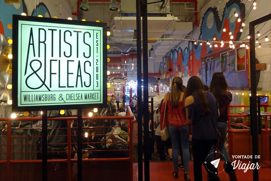Onde comer em Nova York - Chelsea Market - Artists and Fleas