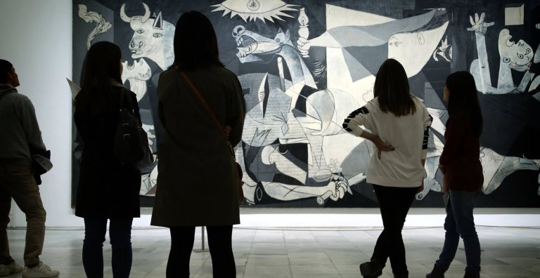 Madri - Guernica no Reina Sofia - Foto Chronicle