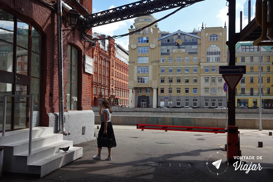 Moscou Red October - Industria criativa na Russia