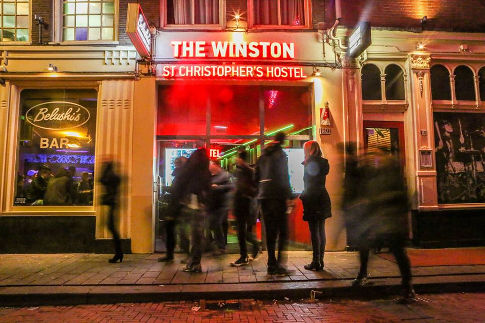Amsterdam - Nightlife - Winston Hostel