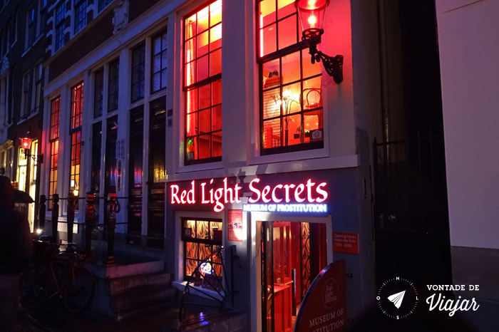 Amsterdam - Red Light District - Museu da Prostituicao